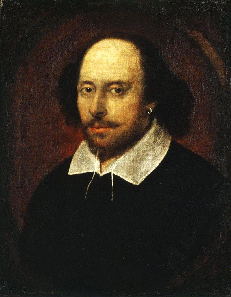 13) Вильям Шекспир. Вильям Шекспир является автором огромного количества работ, выступая как в роли драматурга, так и в роли поэта. До сих пор продолжаются споры о том, какой из портретов Шекспира подлинный. Чандосский портрет Шекспира, представленный ниже, один из них. Дата: начало 1600-х. Художник: John Taylor.