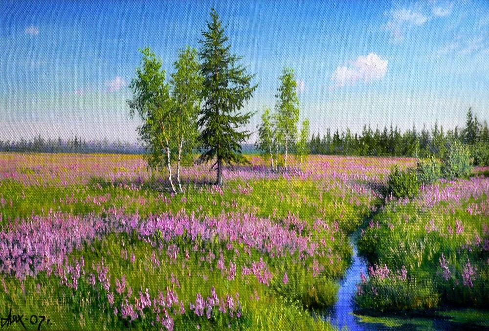 Современный художник Андрей Лях. Пейзажи Заполярья