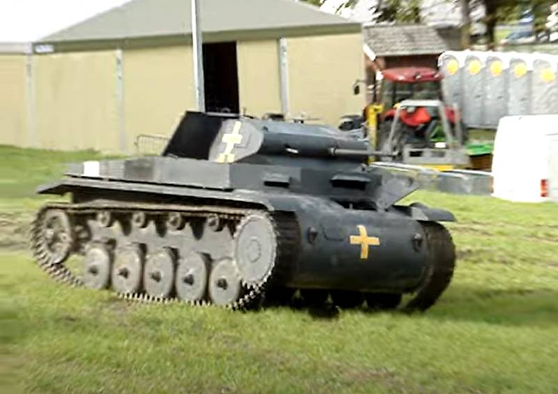 Лёгкая «двойка» вермахта: о танке Panzerkampfwagen II оружие,танки