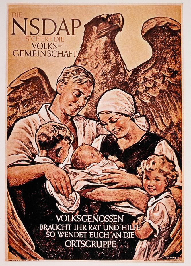 Как нацисты воспитывали идеальных жен