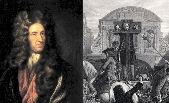 Английский разведчик Даниэль Дефо и позорный столб