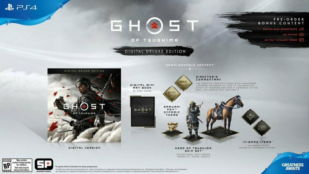 PS4-эксклюзив Ghost of Tsushima обзавелся датой релиза и новым сюжетным трейлером ghost of tsushima,ps,анонсы,Игры