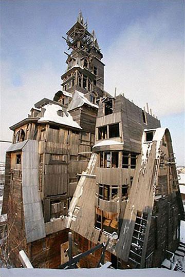 Самый высокий деревянный дом в мире!