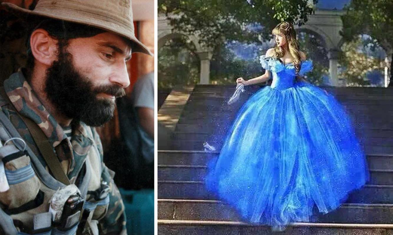Голубое платье (мистическая история)
