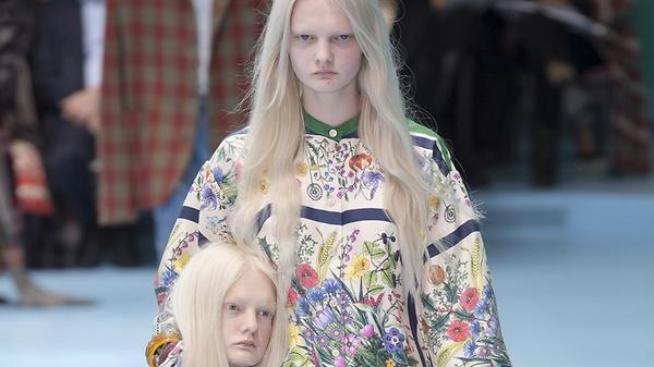 Почему на показе Gucci модел…