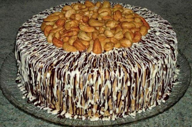 """Торт """"Прекрасная Маркиза"""" славится своим необычным вкусом и торжественностью!"""