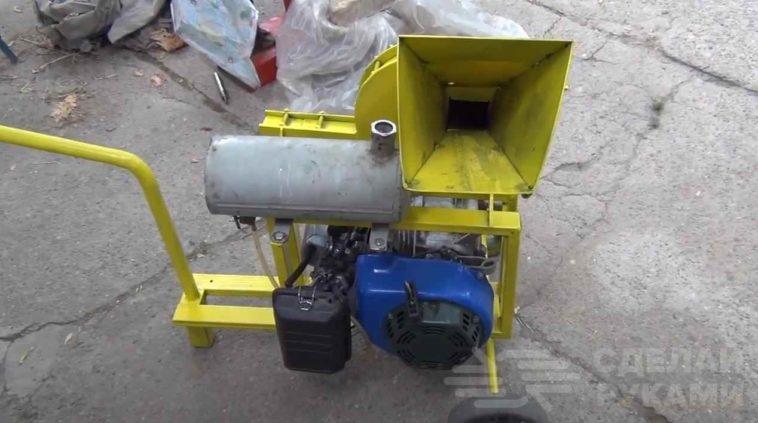Как сделать измельчитель веток из бензинового двигателя
