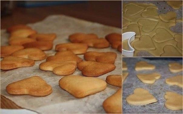 Бисквитное печенье для малышей — нежное, рассыпчатое и очень вкусное