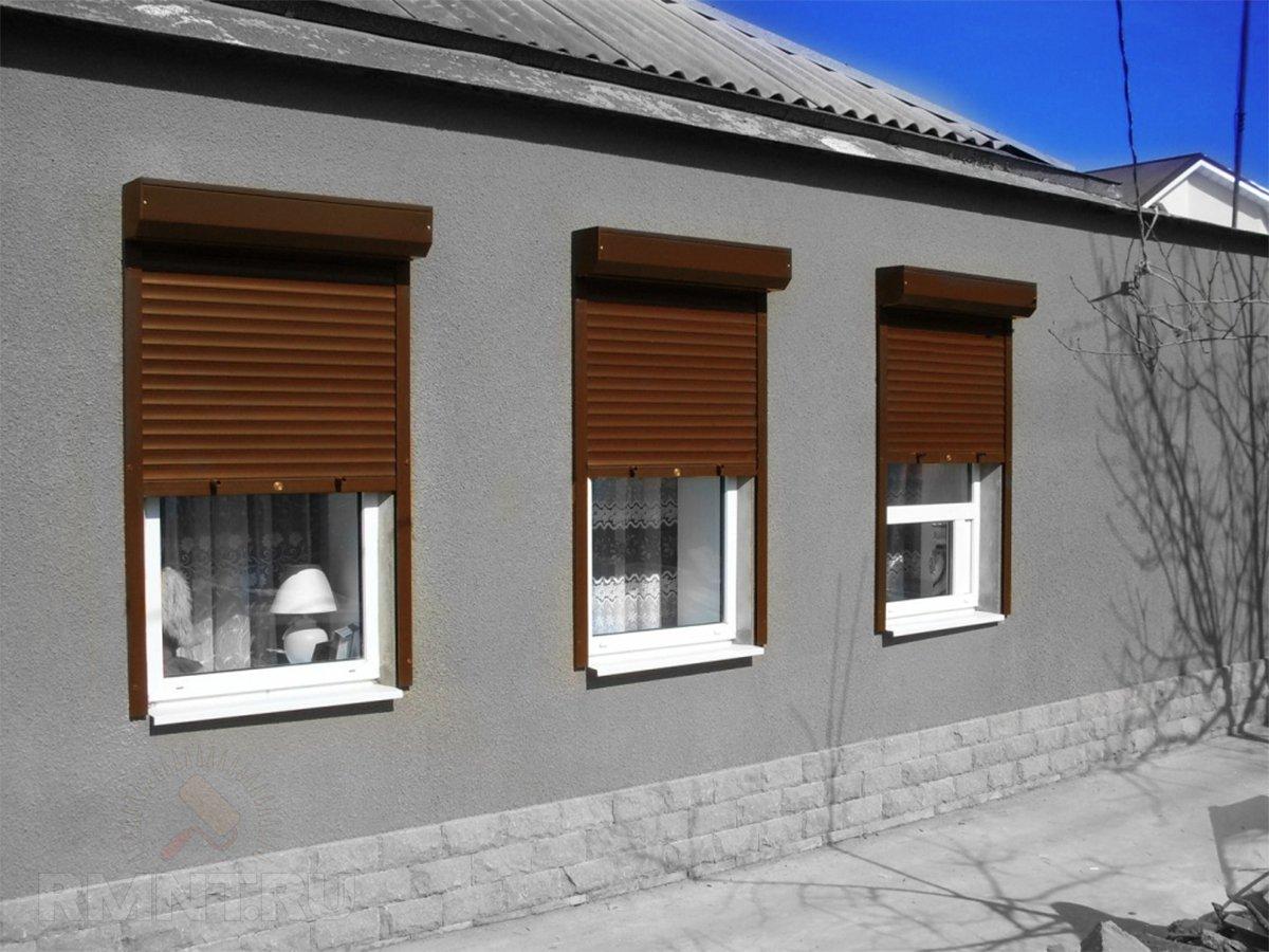 Роллеты на окна фото