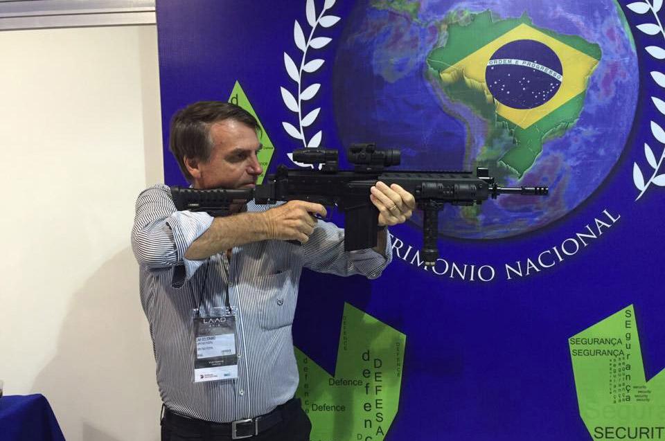 """В одной из самых """"убойных"""" стран мира Бразилии отменили разрешение на покупку оружия"""