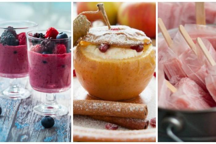 3 рецепта здоровых сладостей