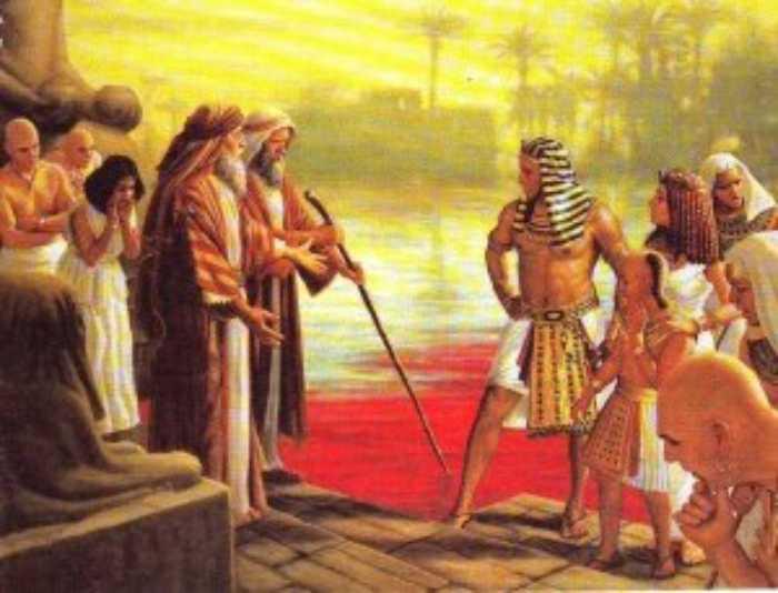 Воды Нила превратились в кровь.