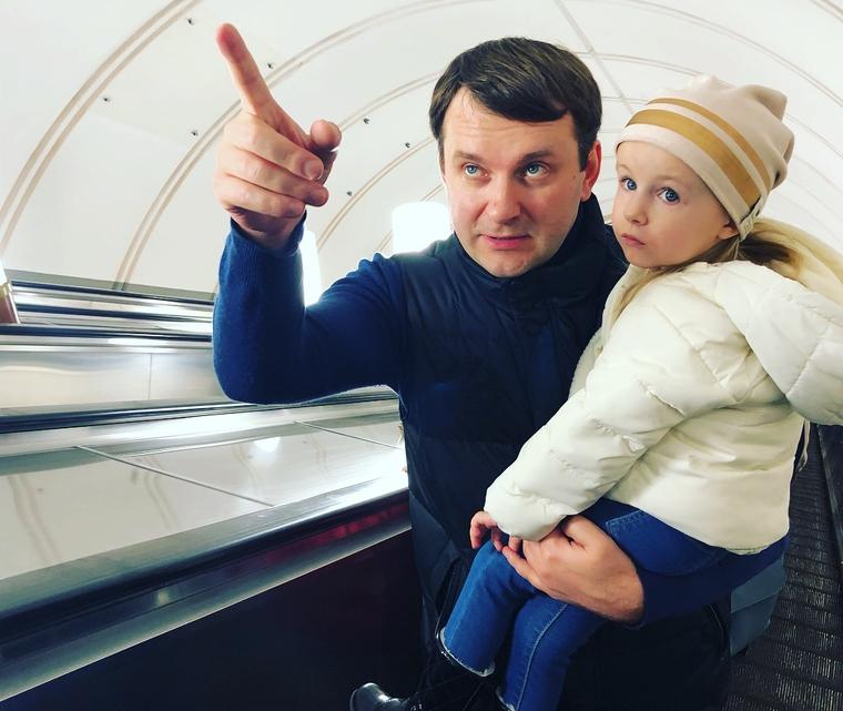 Министра Орешкина заметили в метро. ФОТО