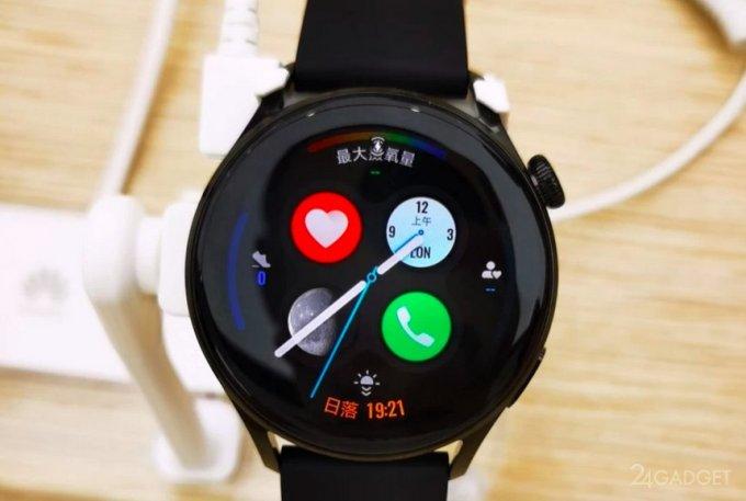 Появились фото будущих смарт часов Huawei Watch 3 и Watch 3 Pro