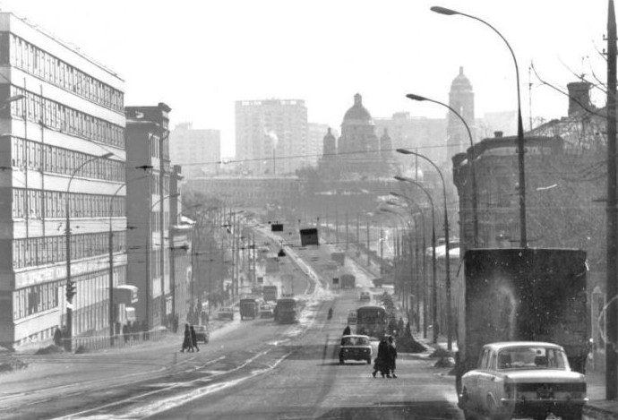 Костомаровский переулок. Фото 1977-1980 года. интересное, москва, старые фото, фото