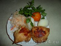 Куриные бедрышки в маринаде