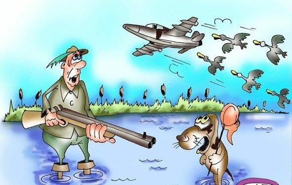 Охота рыбалка в картинках приколы