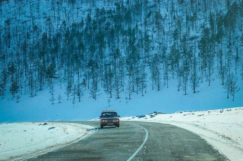 Дорога на Байкал глазами иностранца