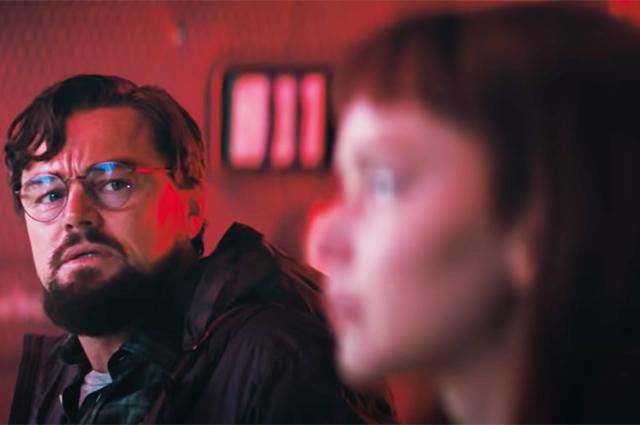 """Дженнифер Лоуренс и Леонардо ДиКаприо на первых кадрах премьеры Netflix """"Не смотри вверх"""""""