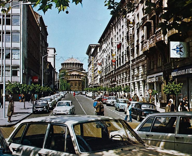 1960-е, София, Соборная улица: СССР, болгария, быт, история, это интересно