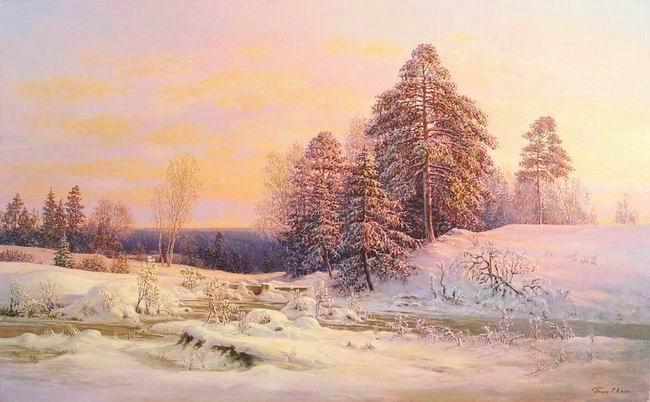 Святая Русь, художник Сергей Панин