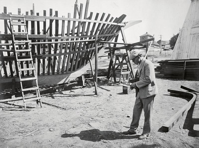 """Джек Лондон на строительстве """"Снарка"""", 1906 г. джек лондон, история, фото"""