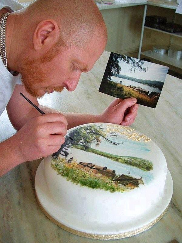 можете чем делают картинки на тортах связи