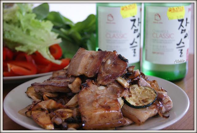 Барбекю по-корейски. Korean BBQ.