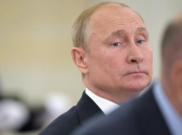 Путин заявил о деградации отношений России и США