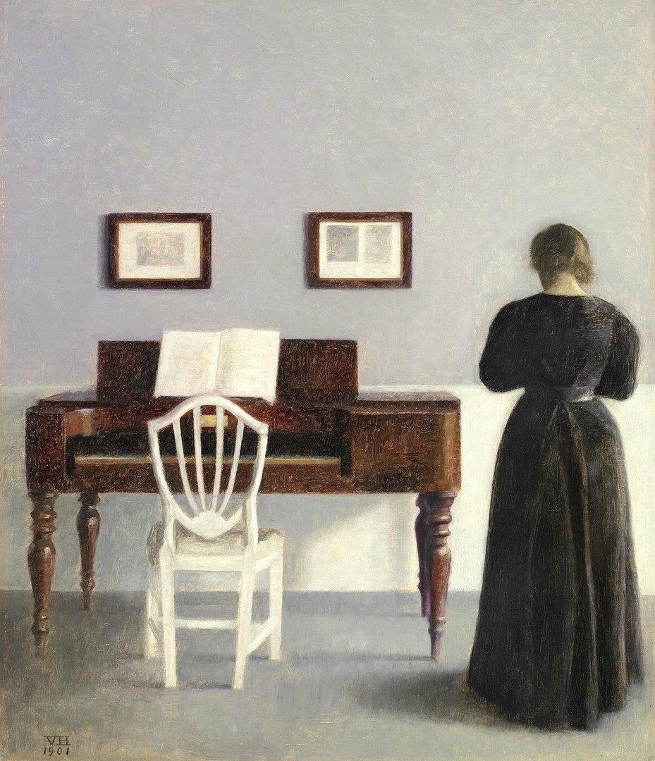 Хроники одиночества. Датский художник Вильгельм Хаммерсхёй