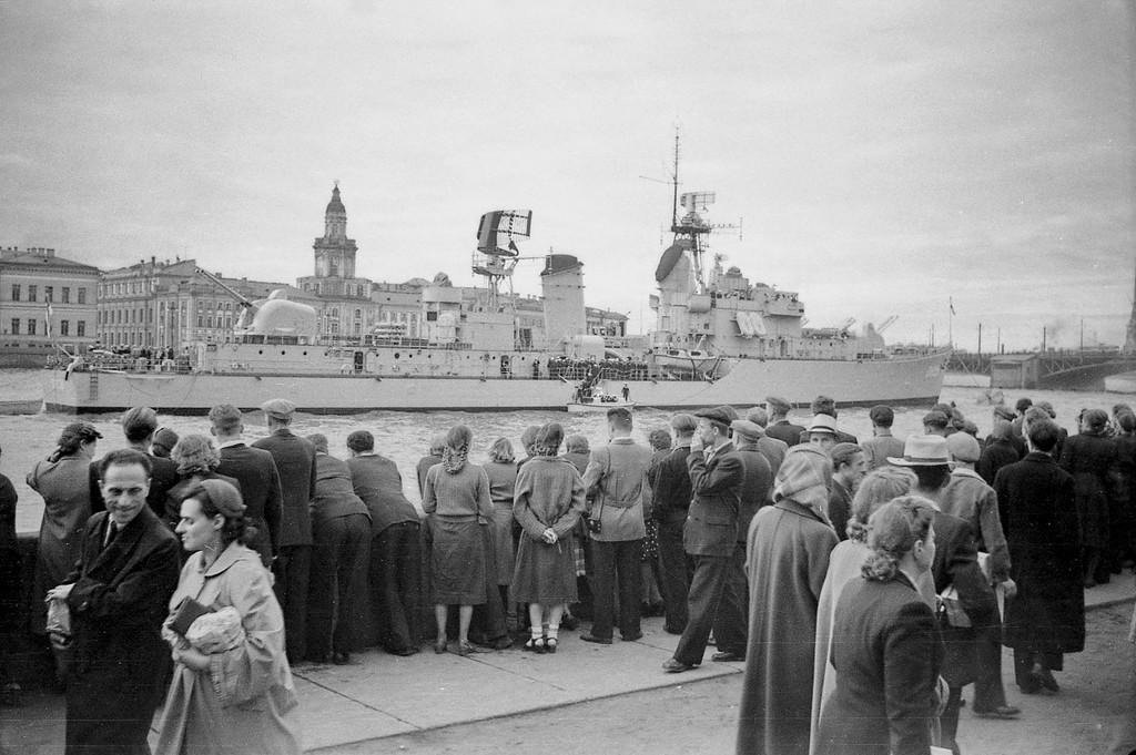 Голландцы в Ленинграде