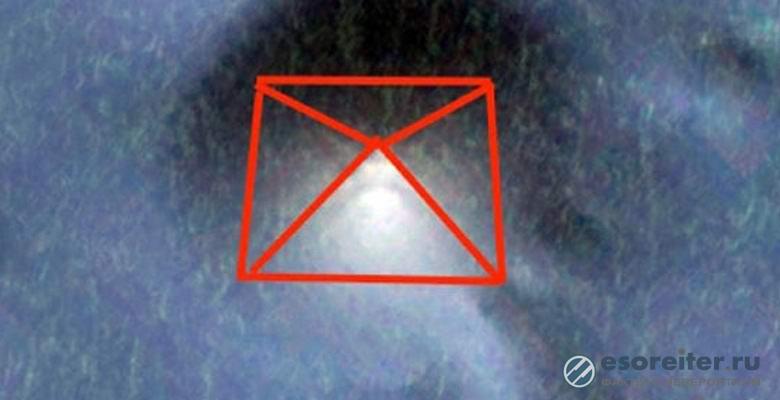 Гигантскую пирамиду обнаружили в Тихом океане