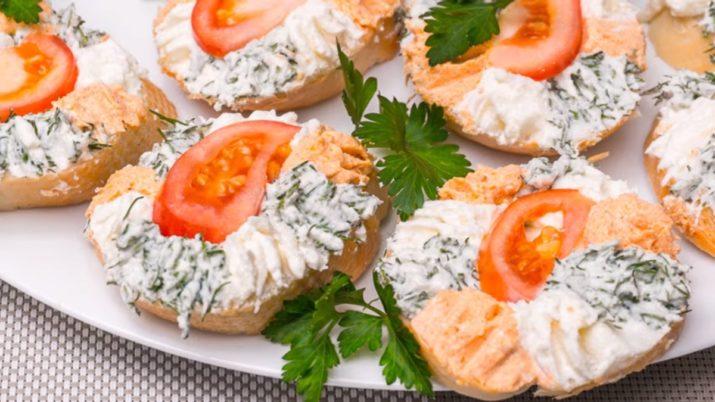 Красивые бутерброды на празд…
