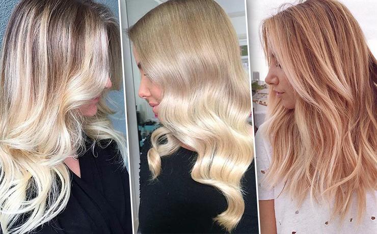 Балаяж для блондинок — 14 эффектных идей модного окрашивания