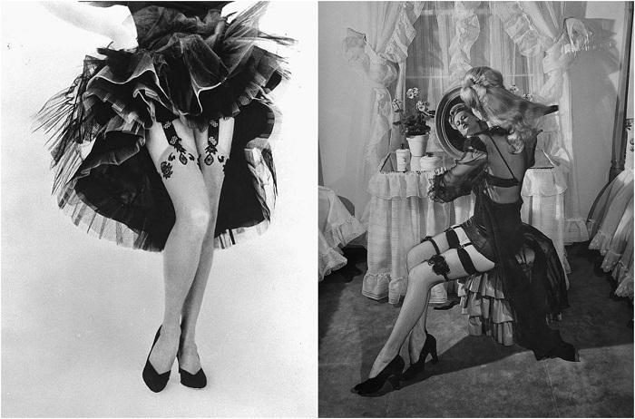 Видео гламурные модели в чулках франческа