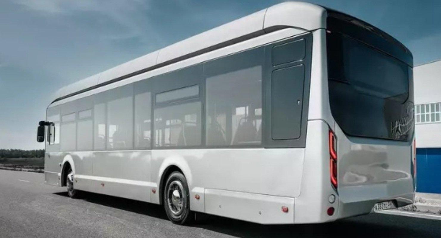Созданный для Европы электробус Volgabus проверят на дорогах Питера Автомобили