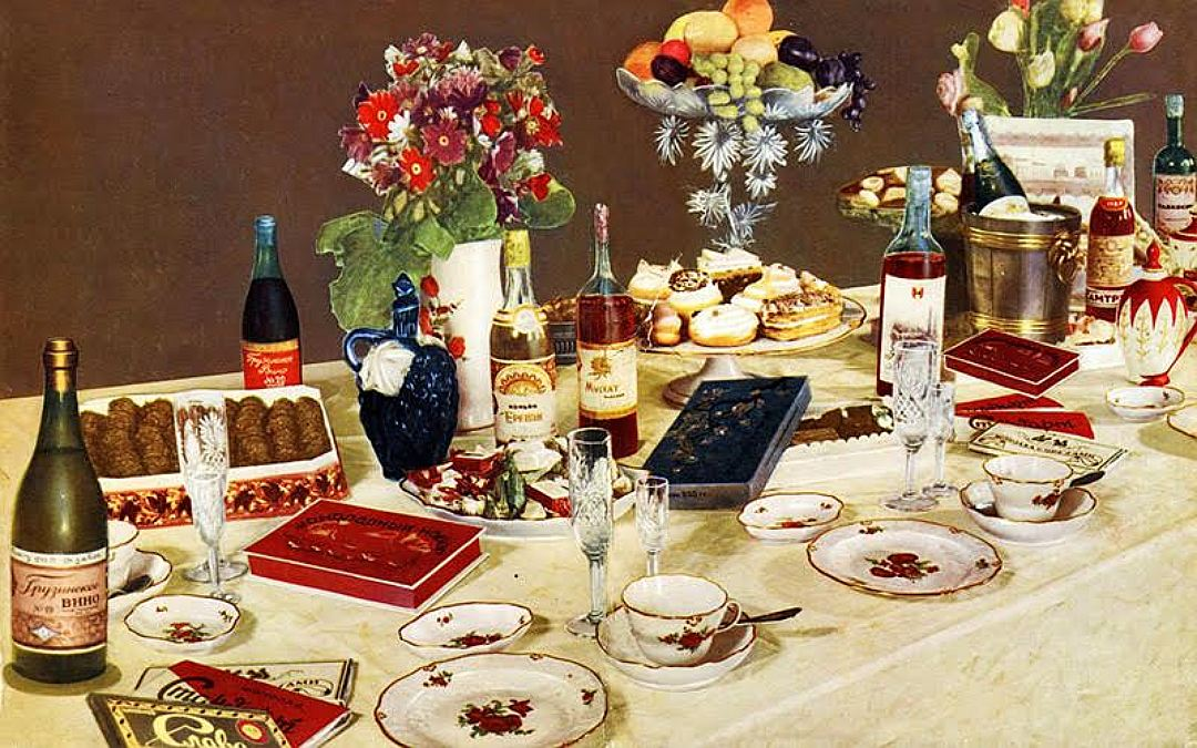 советский новогодний стол фото родственником львовых