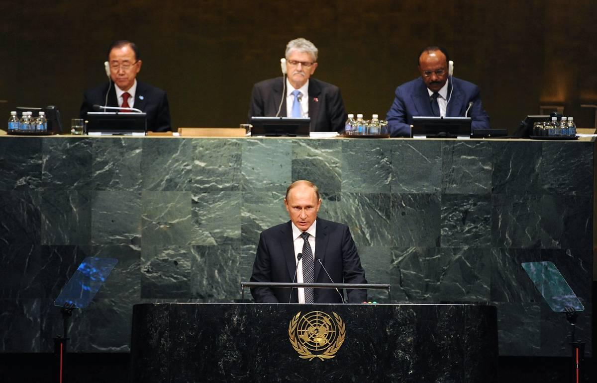 Вассерман поделила ожиданиями от предстоящего выступления Путина на Генеральной Ассамблее ООН