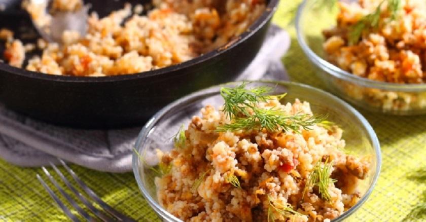 Кускус с фаршем: быстрое блюдо к обеду или ужину
