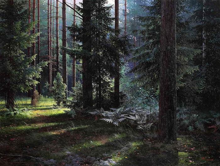 Художник из Белорусии создаёт зачаровывающие гиперреализмом пейзажи в лучших традициях классиков