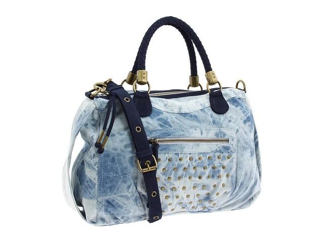 Джинсовые сумки. Идеи для вдохновения