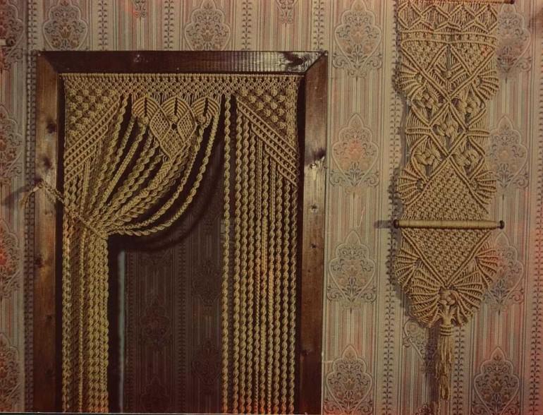 Как сплести красивую шторку из обычной пеньковой веревки будет, создания, нитей, следует, также, плотно, плетения, стоит, четыре, создание, основных, после, нитями, вариантом, будут, занавески, петлю, длины, проводится, затягиваются