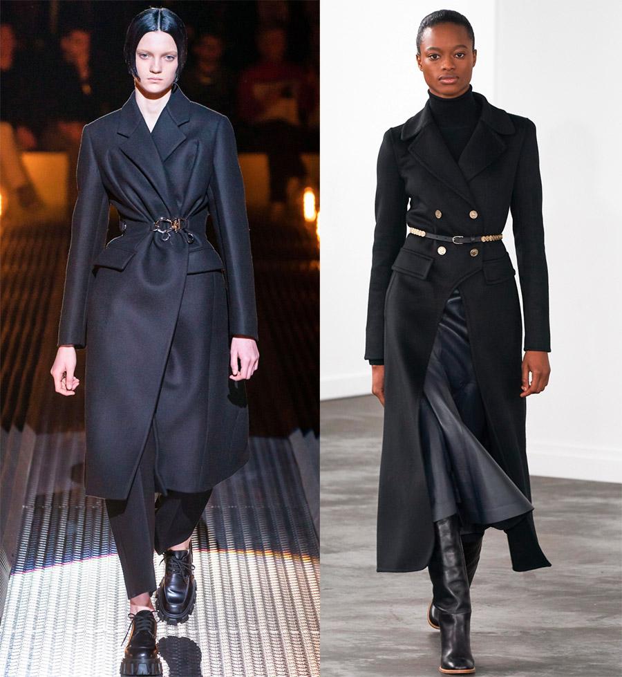 Стильные пальто для девушек