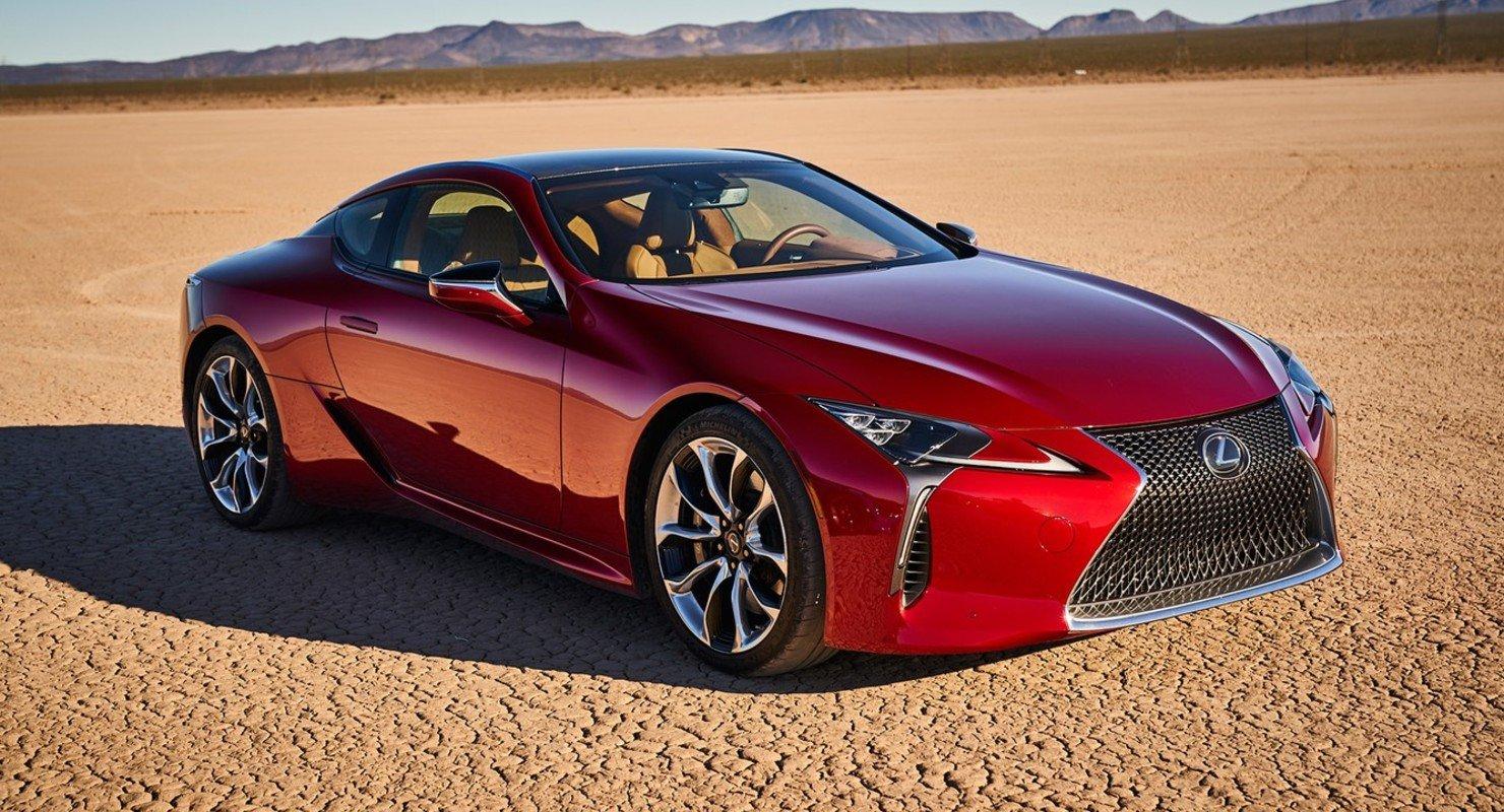 Мощное и современное купе премиум-класса, для ценителей дороги: Lexus LC Автомобили
