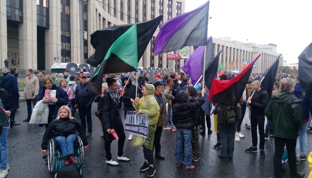 Американский след: гражданка Штатов «случайно» оказалась среди задержанных на митинге