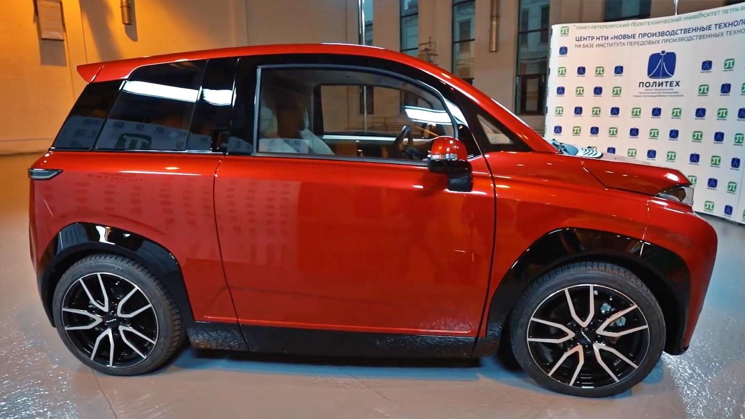 Новая виртуальность: представлен российский электромобиль Кама-1 авто,авто и мото,автосалон,водителю на заметку,машины,новости автомира,Россия,тюнинг