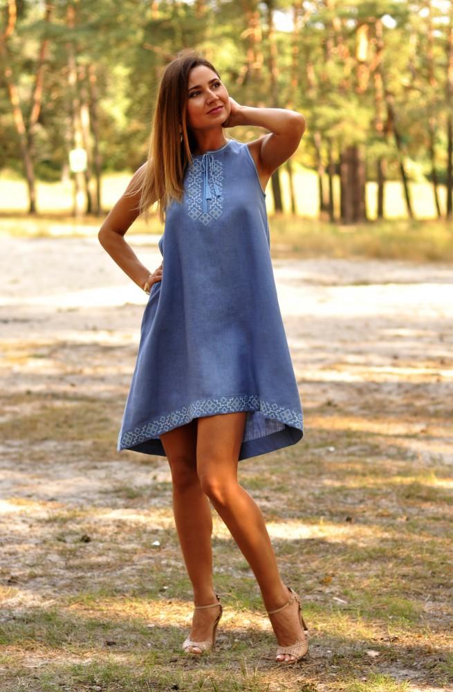 Летние платья в стиле бохо фото 15