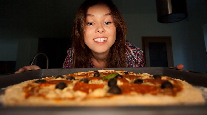 повезло разнощику пиццы