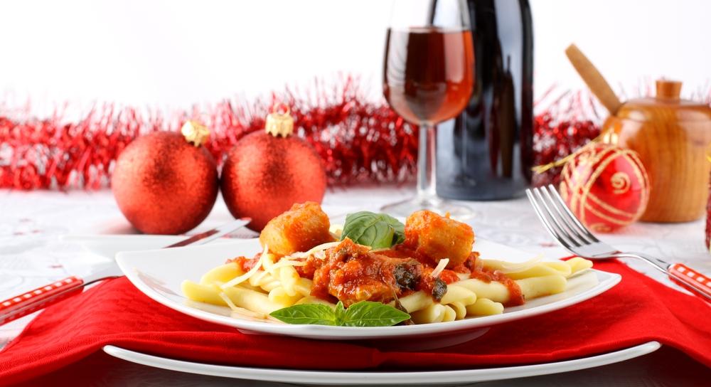 Три рождественских итальянских блюда