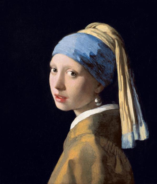 Девушка с жемчужной серёжкой, Ян Вермеер.